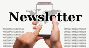 Newsletter registration